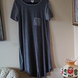 LulaRoe classic gray dress. L